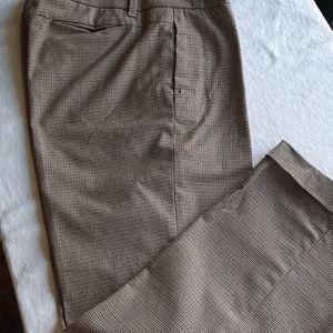 Gap tweed style straight Pants